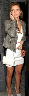 Audrina Patridge Style in Studded Leather Jacket