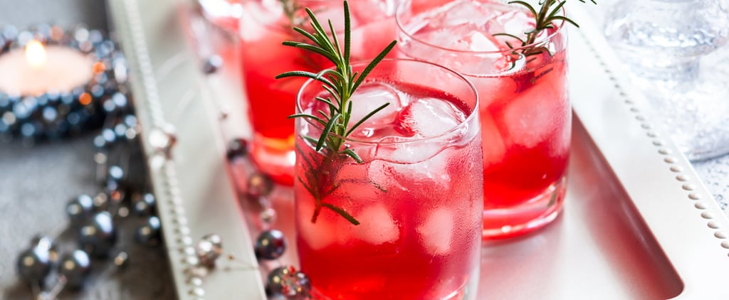 Healthy Pomegranate Rosemary Martini Recipe