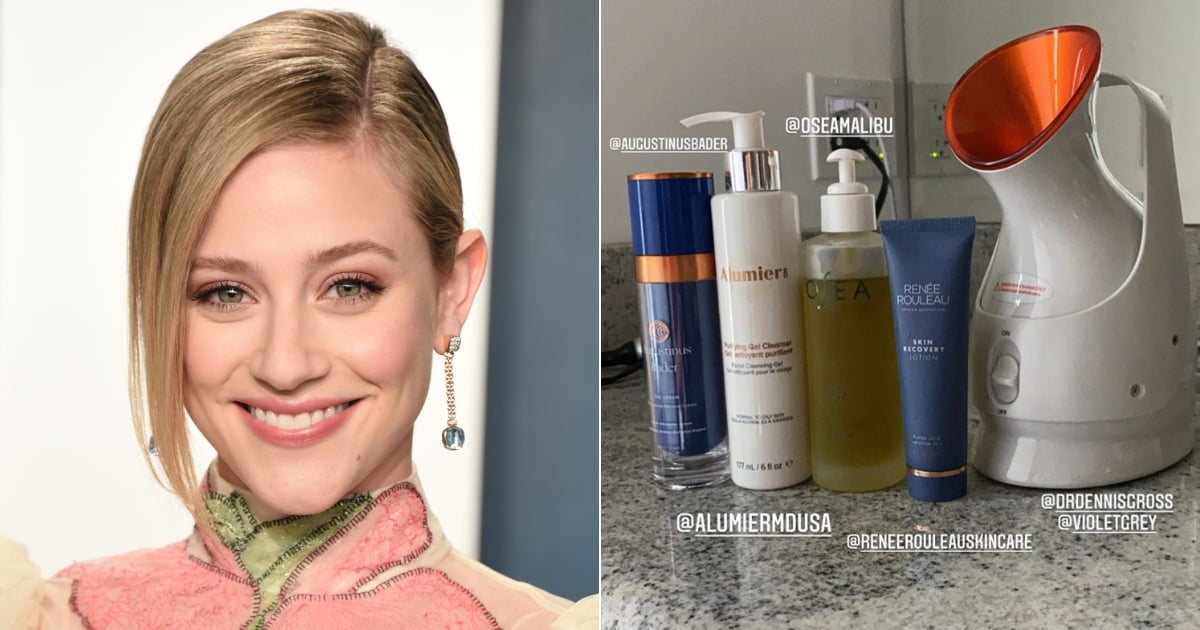 Lili Reinhart's Current Beauty Routine Looks Like a Spa-Grade Facial Experience