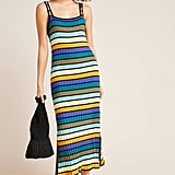 Solid & Striped Ribbed Cover-Up Dress