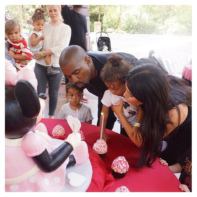 See North West's Disneyland Birthday Photo Album!