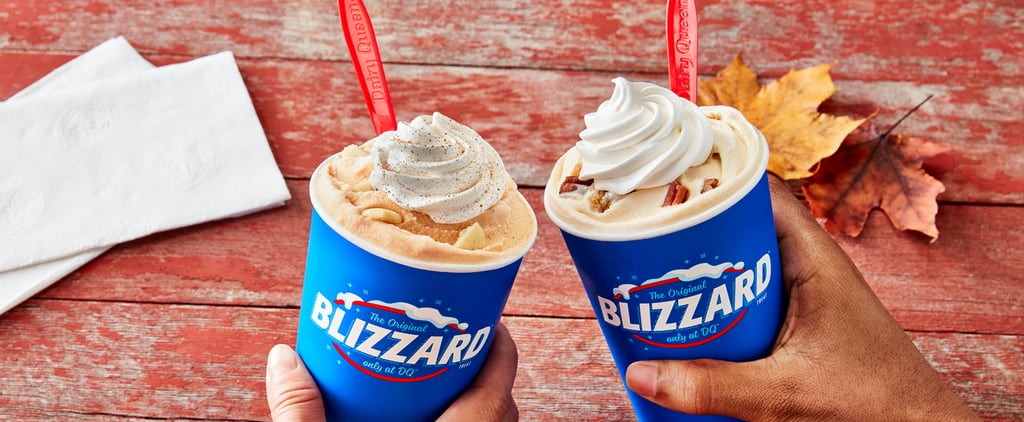 Dairy Queen's Fall 2021 Blizzard Flavors