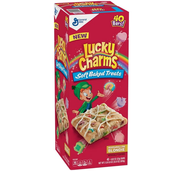 Lucky Charms Soft Baked Marshmallow Blondie Treats 2019