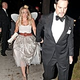 Hilary Duff was a tooth fairy and Mike Comrie was her escort in LA in 2014.      Related:                                                                                                           Seriously Easy Homemade Face Paint