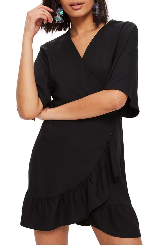 Flattering Wrap Dress