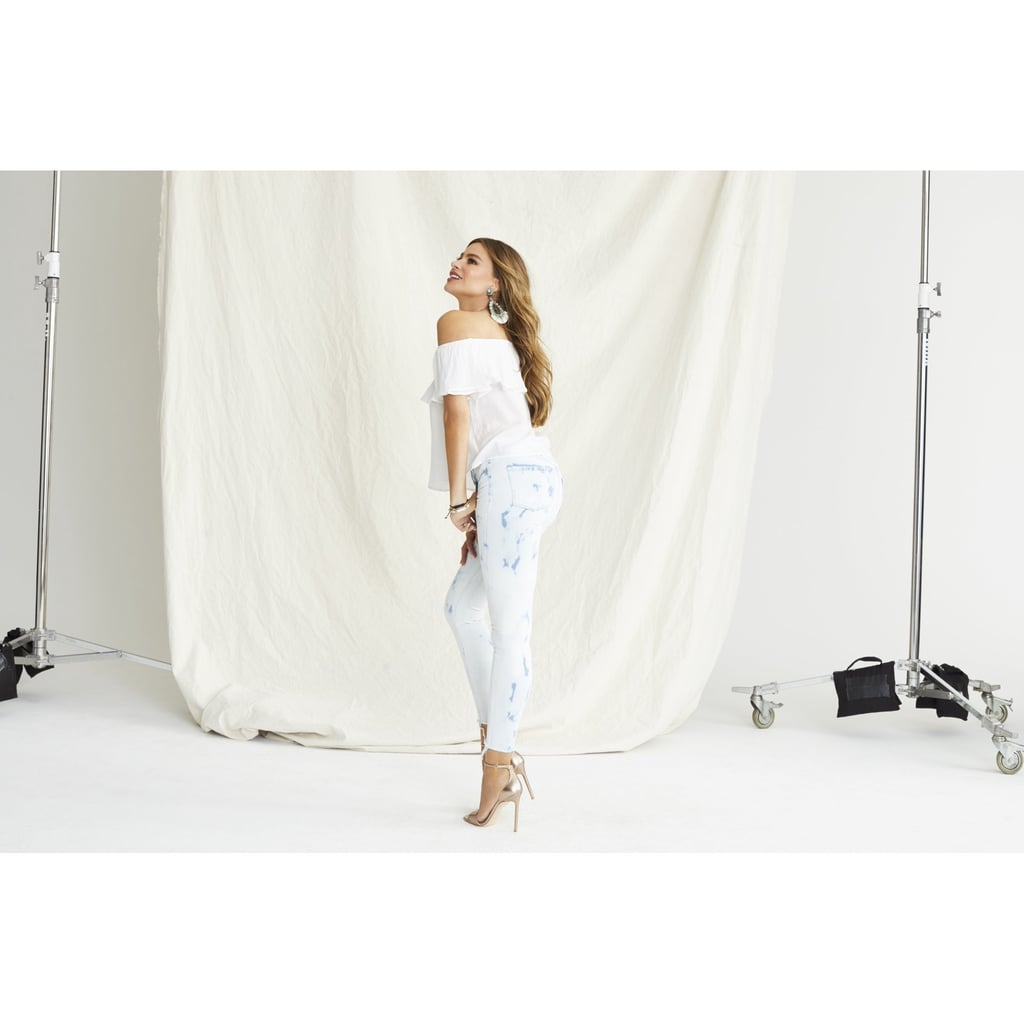 Sofia Skinny Mid-Rise Stretch Ankle Jeans