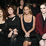 Bernadette Peters, Susan Sarandon, Chrissy Teigen, and Coco Rocha at NYFW
