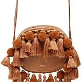 Luisa Via Roma Tasseled Leather Shoulder Bag ($547)