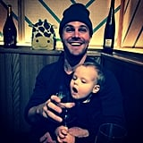 "Stephen laughed while Mavi reached for his beer in February 2015, writing, ""Parenting 101."""