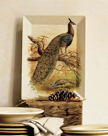 Peacock Melamine Tray: Love It or Hate It?