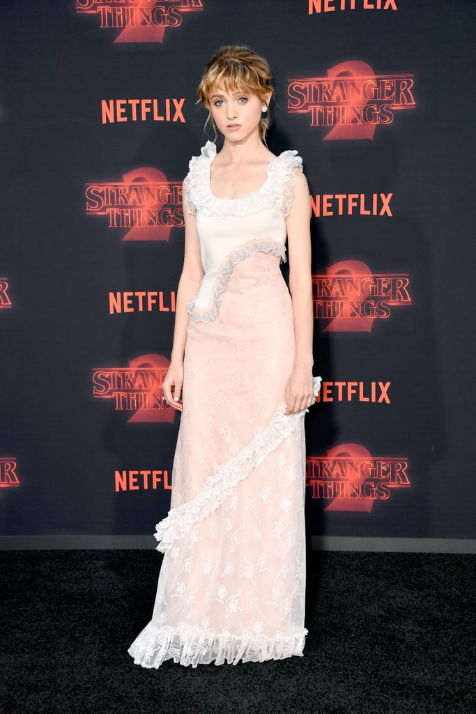 Natalia Dyer at Stranger Things Season 2 Premiere