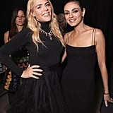 Pictured: Busy Philipps and Mila Kunis