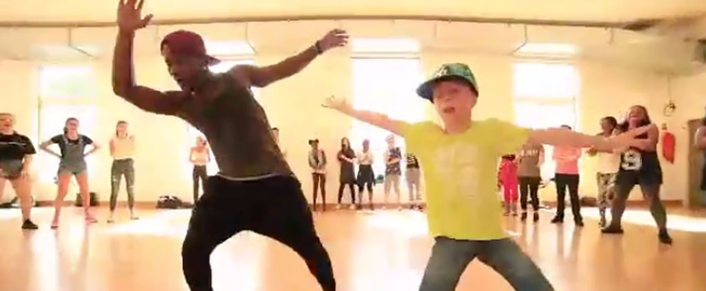 This Little Boy's Insanely Good Dance Moves Will Have Your Jaw on the Damn Floor