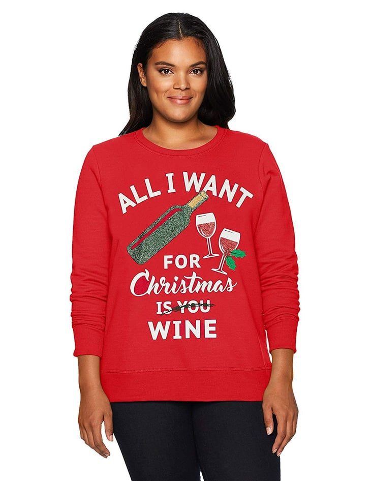 Funny Christmas Sweater.Funny Ugly Christmas Sweaters For Women On Amazon Popsugar