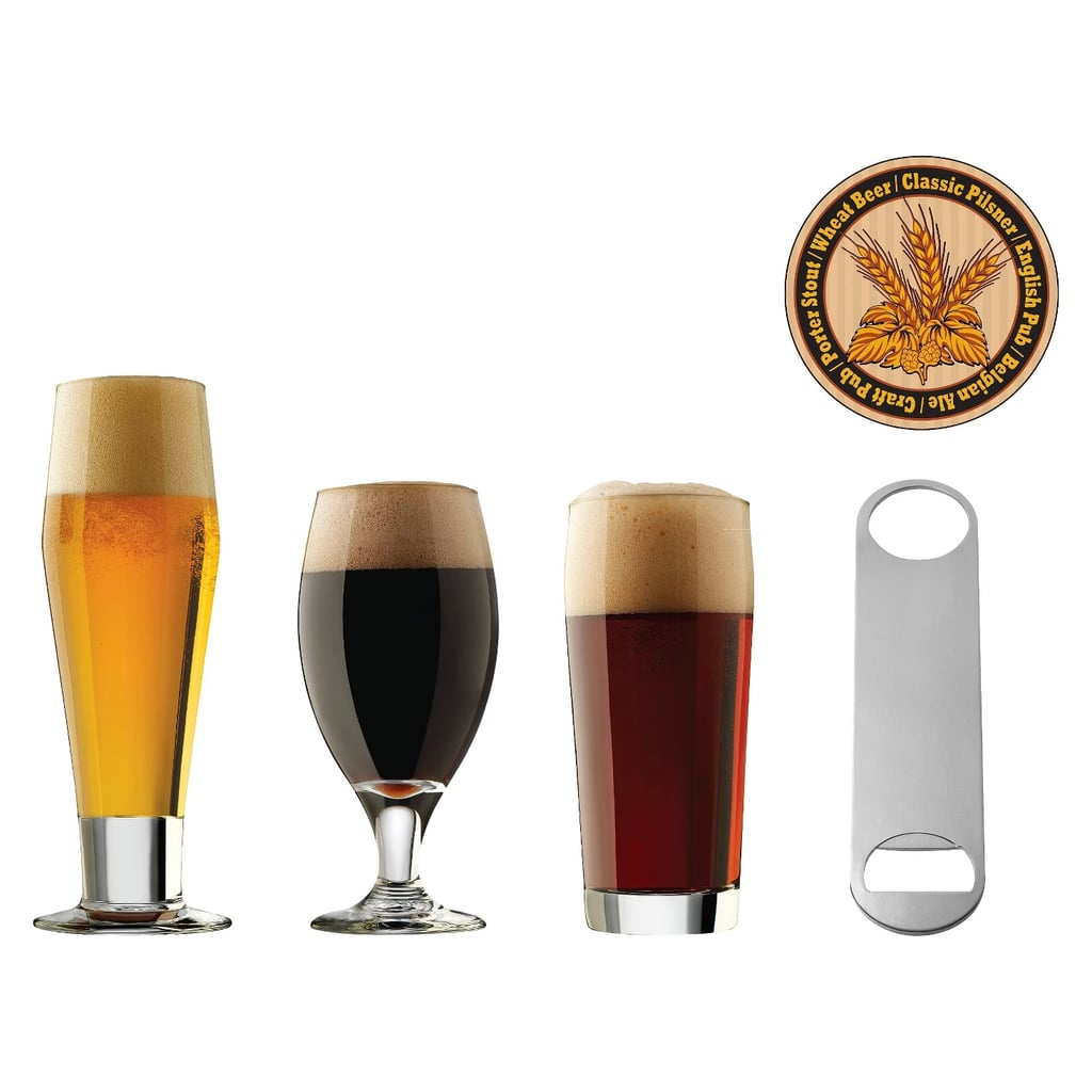 25pc Assorted Beer Glasses