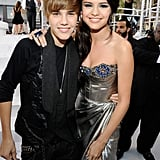 They posed together on the red carpet at the 2010 MTV VMAs.