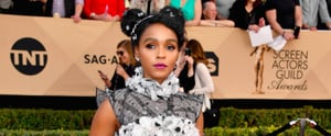 Janelle Monáe's SAG Hair Accessories Look Like Modern '90s Butterfly Clips