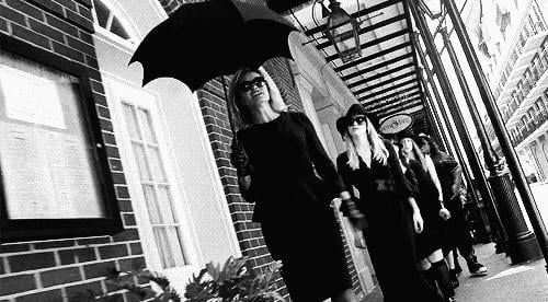 When Jessica Lange kicked off Coven by being super fierce as Fiona Goode.