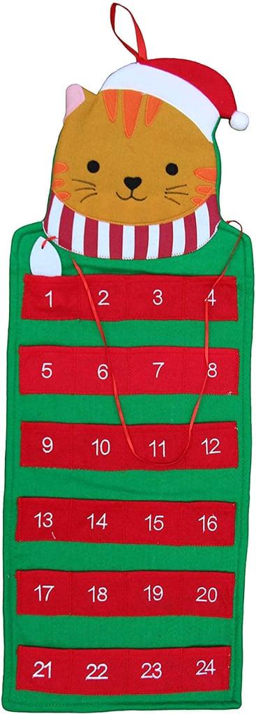 Reusable Cat Advent Holiday Calendar