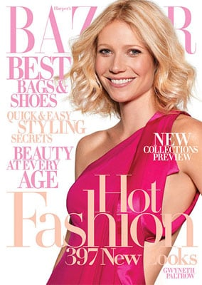 Gwyneth Paltrow's Cover of Harper's Bazaar