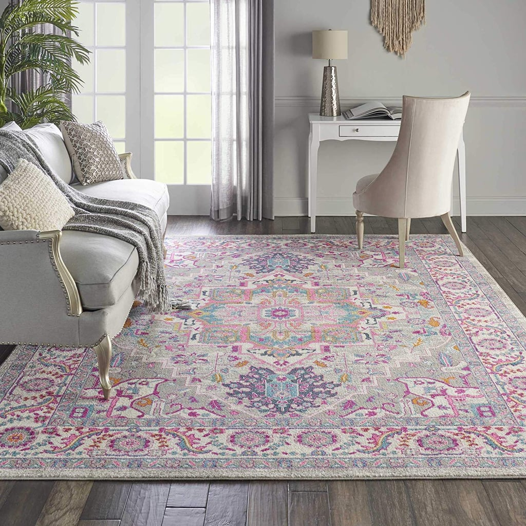Nourison Passion Persian Colorful Light Area Rug
