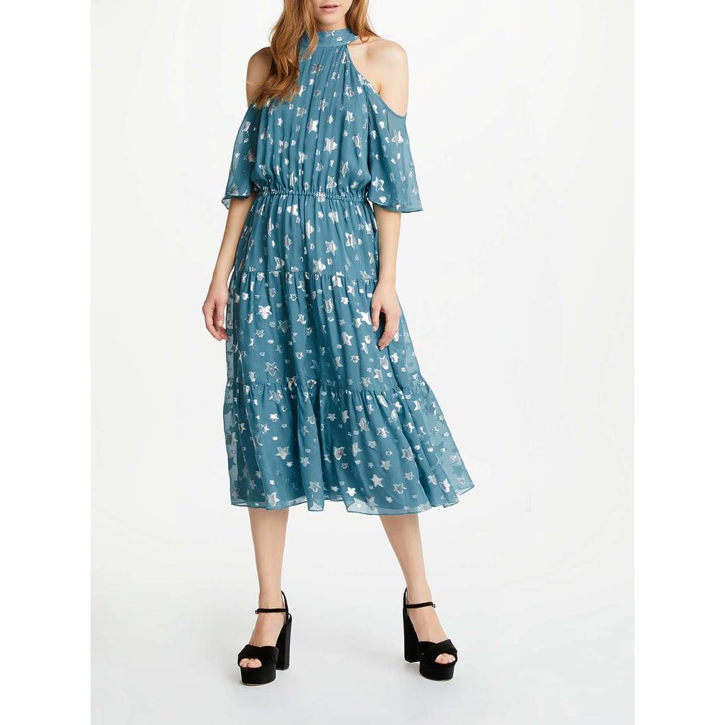 Somerset by Alice Temperley Jacquard Cold Shoulder Dress | Wedding ...