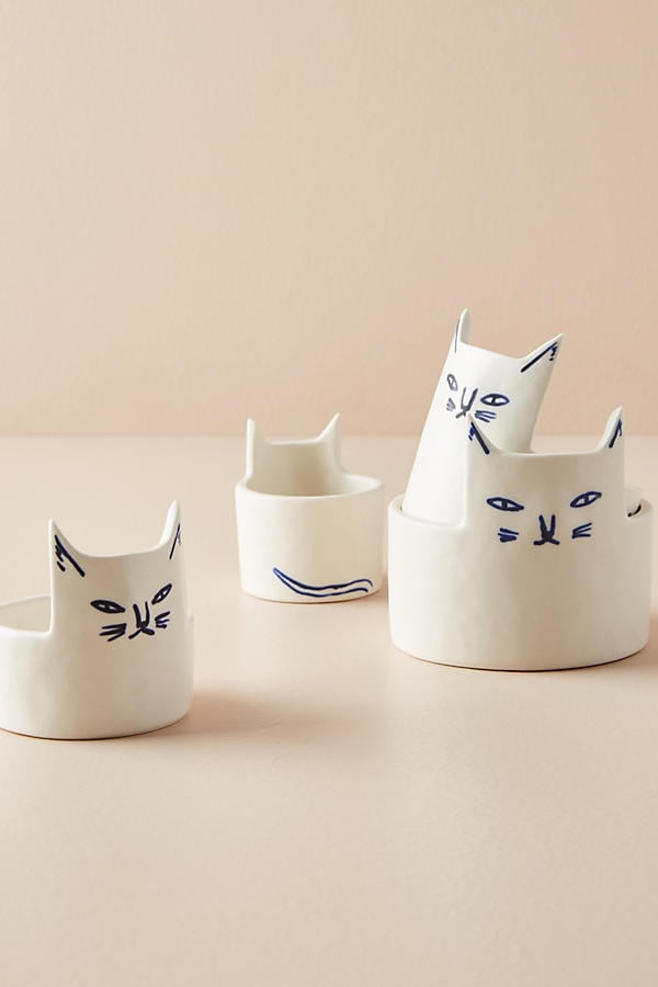 Anthropologie Cat Measuring Cups