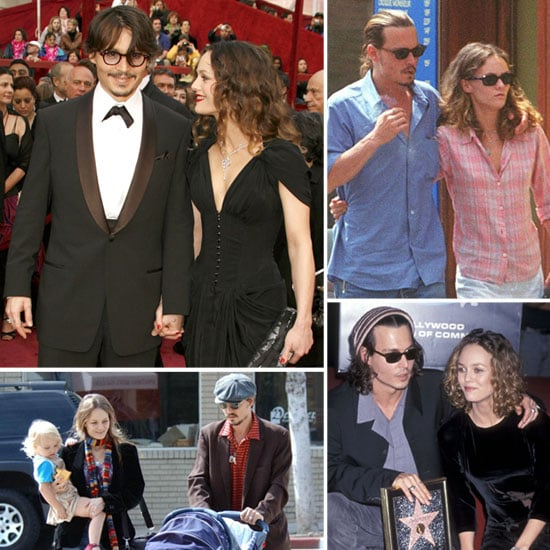 Johnny Depp and Vanessa Paradis Pictures