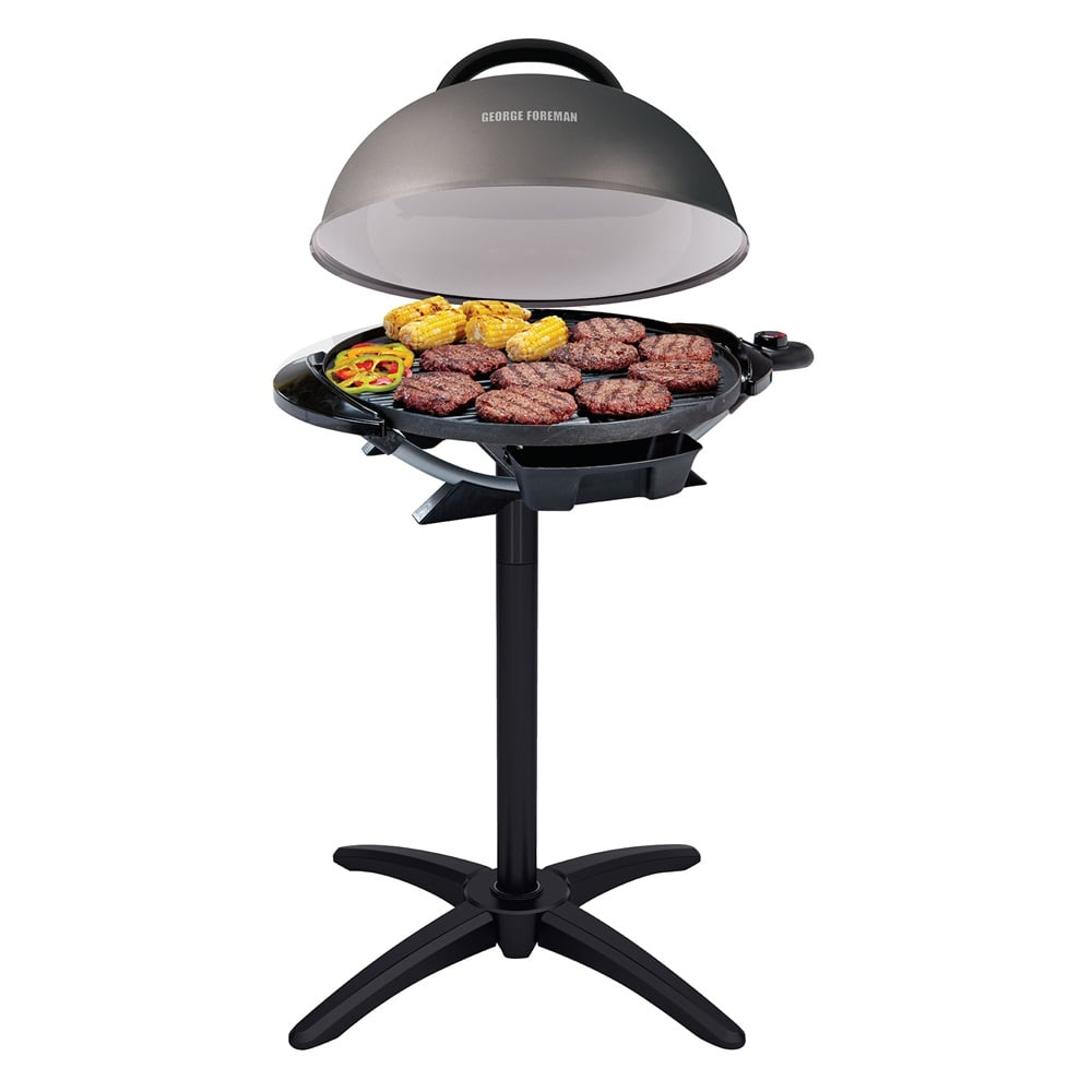 For the Tailgate Fan: George Foreman Indoor/Outdoor Electric Grill
