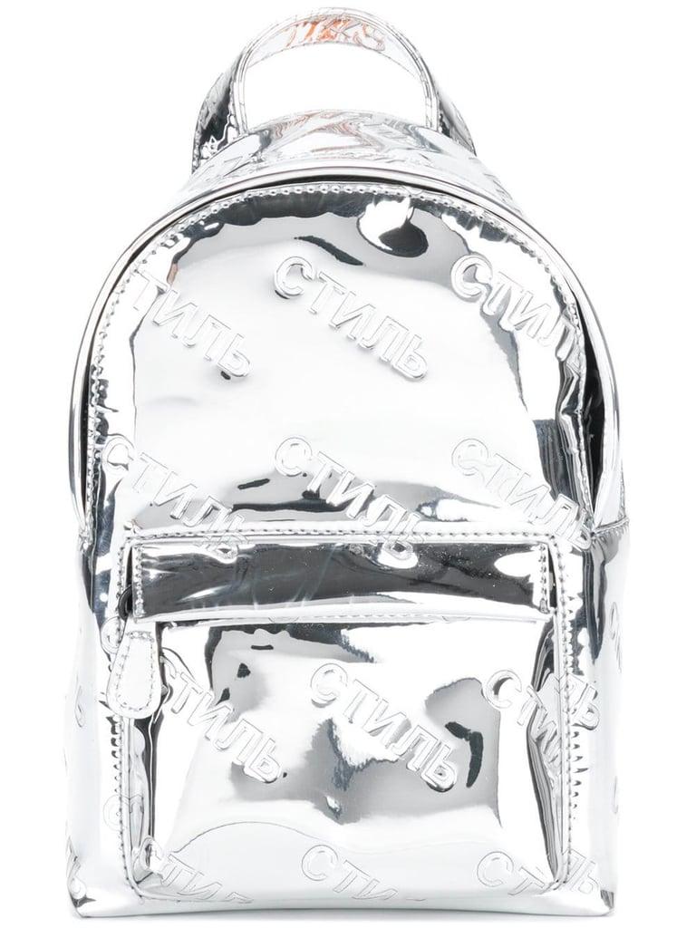 Shop It: Heron Preston Printed Backpack