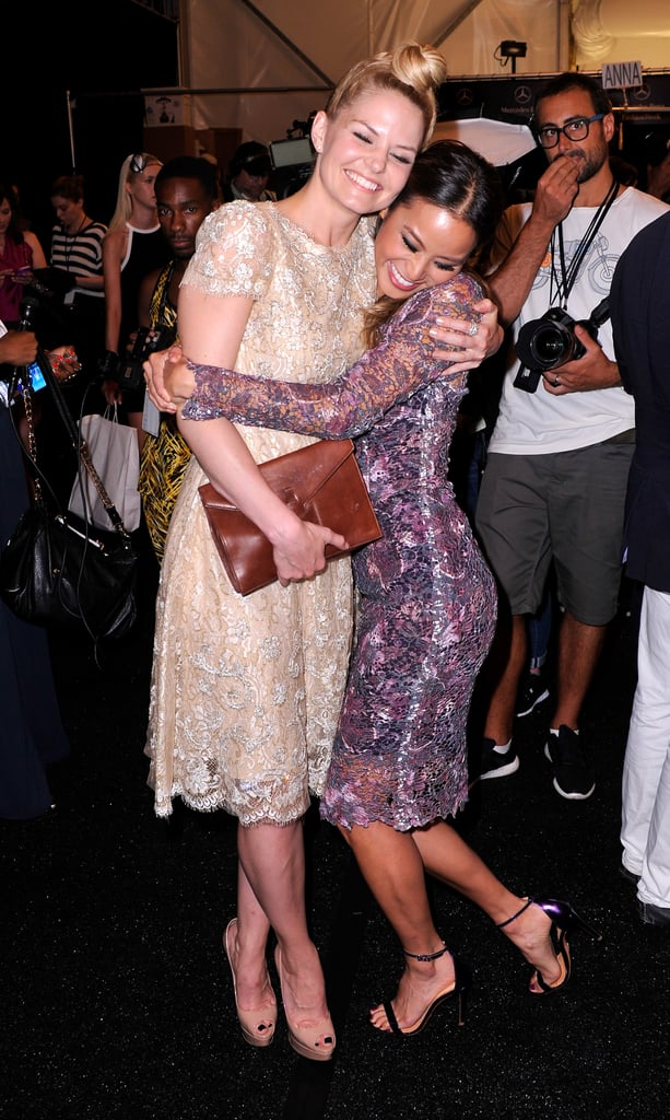 Once Upon a Time is full of complicated relationships, but in real life, the cast is one big family. While Jennifer Morrison has a special bond with her onscreen parents, Josh Dallas and Ginnifer Goodwin, and TV husband Colin O'Donoghue, we can't get enough of her friendship with Jamie Chung (who guest starred as Mulan on the hit fairy tale show). When the heroines aren't saving the day in the Enchanted Forest, they're bonding over their love of fashion in the Big Apple and posting sweet snaps together on Instagram. Even though the actresses have said goodbye to OUAT, their friendship will always be magical. See some of their best moments ahead.        Related:                                                                                                           Once Upon a Time: Regina, Hook, and Rumple Will Have New Identities in Season 7