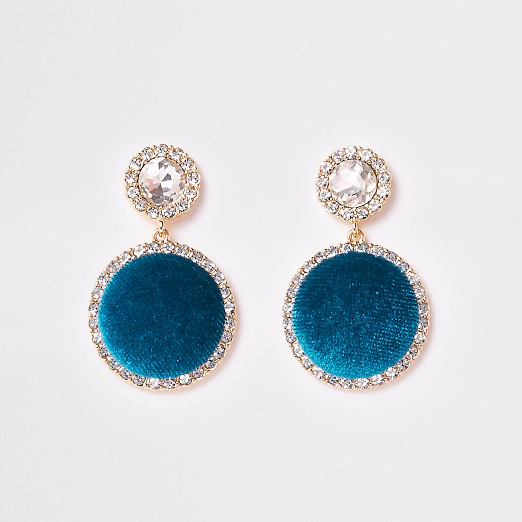 River Island Turquoise Drop Earrings