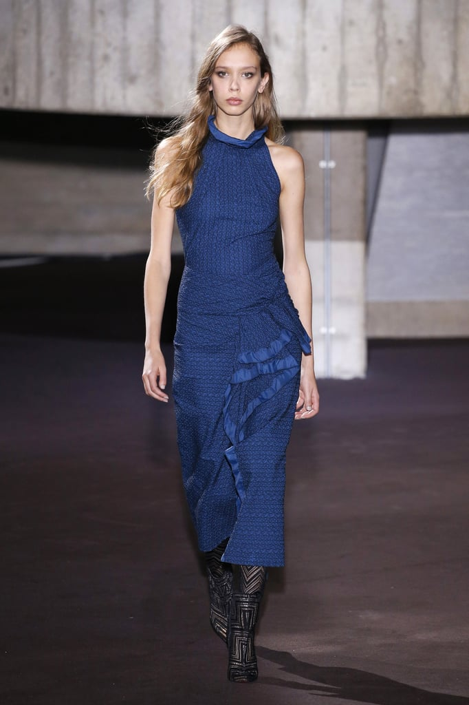 We can totally see Meghan opting for this royal blue dress for her next formal event.