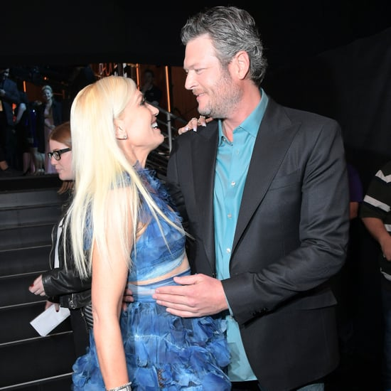 Blake Shelton & Gwen Stefani at People's Choice Awards 2017