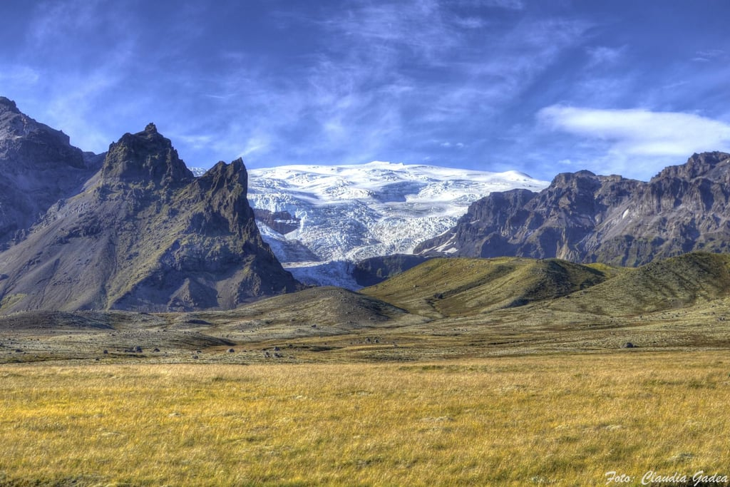 Vatnajökull is Europe's largest glacier. Its endless ice plains were perfect for North of the wall scenes.