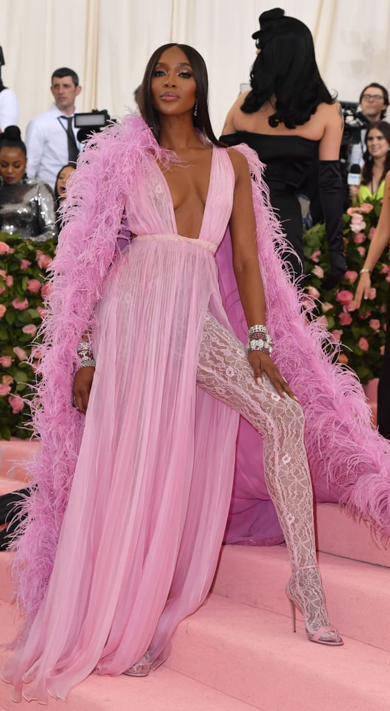Naomi Campbell at the 2019 Met Gala
