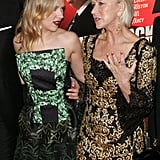 Helen Mirren and Scarlett Johansson were on the red carpet for the Hitchcock premiere in NYC.