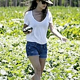 Rachel Bilson Spends a Sunny Afternoon Digging in the Dirt With Her Little Sisters