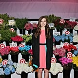 Elizabeth Olsen stepped out in NYC for the Prabal Gurung for Target launch.