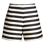 Moncler Striped Faille Bermuda Shorts ($315)
