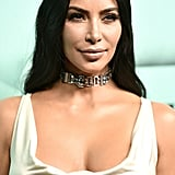 Kim Kardashian's Tiffany & Co. Choker October 2018