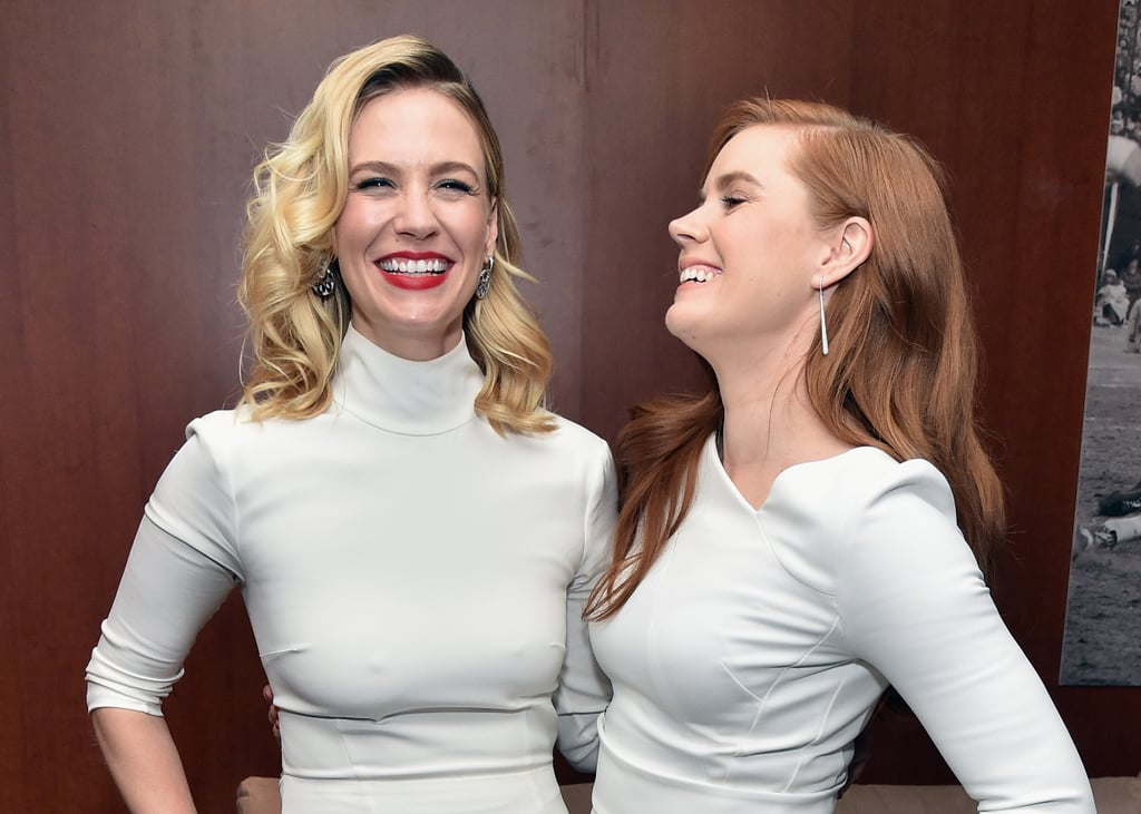 Pictured: January Jones and Amy Adams