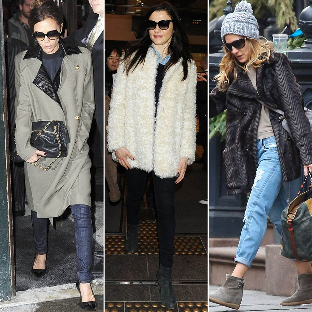 Celebrity Winter Styling Tips Popsugar Fashion