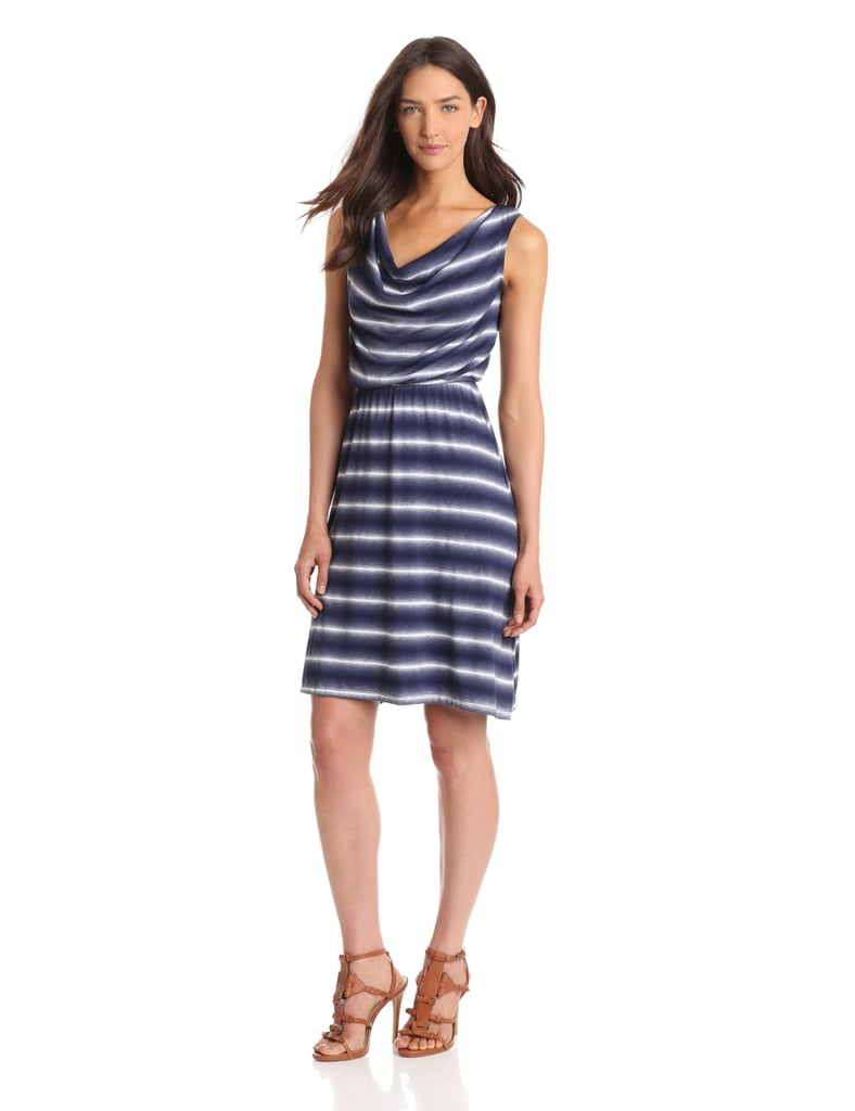 The draped neckline of this Amy Byer dress ($49) makes it feel a bit more work ready than a classic tank cut.