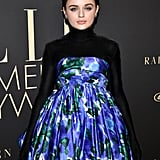 Joey King's Floral Dress at Elle's Women in Hollywood Event