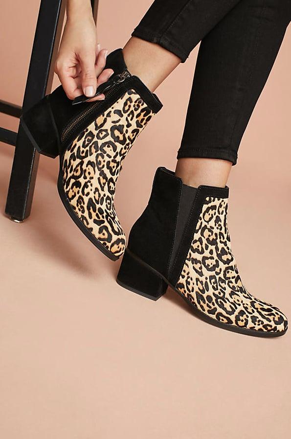 Splendid Leopard Booties