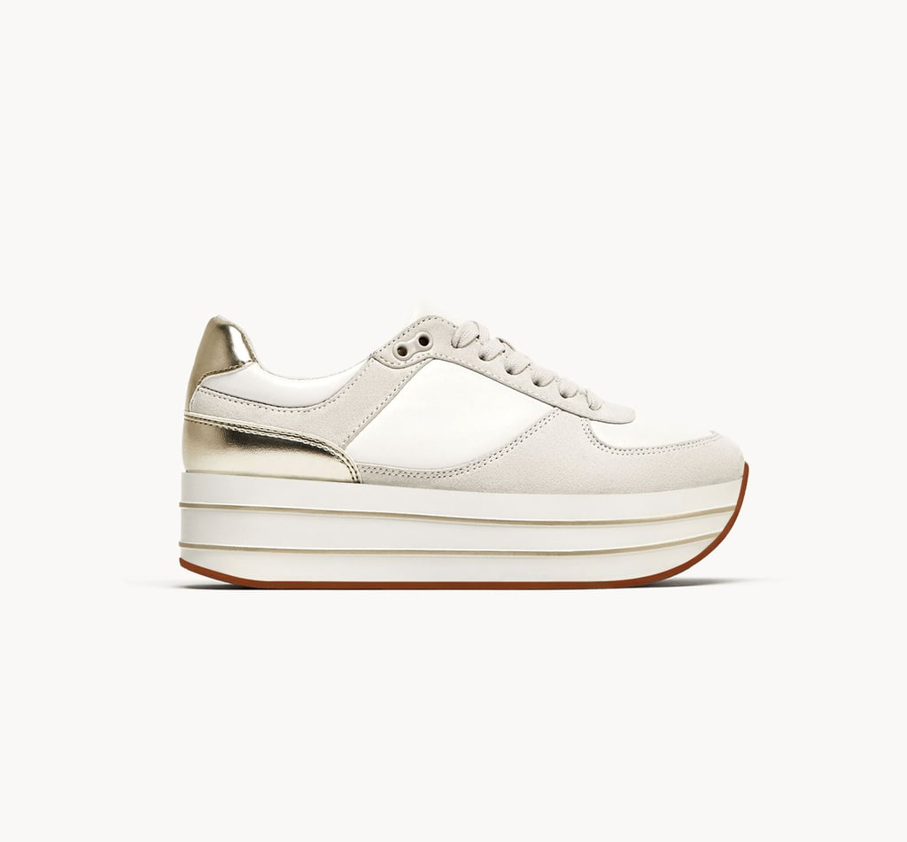 If Zara is doing it, it's definitely a thing. Try these Zara Platform Sneakers ($60) for an affordable way to lean into the trend.