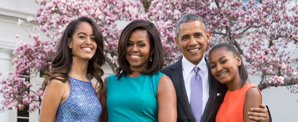 Michelle Obama on Relationship Changes With Sasha and Malia