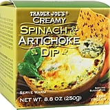 Best Trader Joe's Party Food: Spinach and Artichoke Dip ($3)