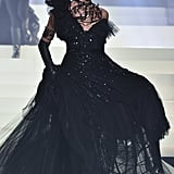 Irina Shayk on the Jean Paul Gaultier Runway